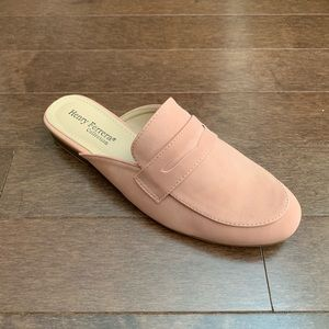 Brand New Blush Mules